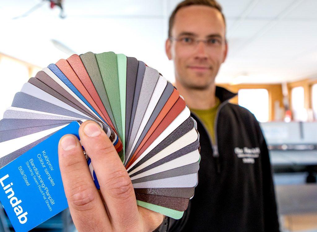 Chr Føre as levere en rekke farger på sine beslag Foto Michael Ulriksen